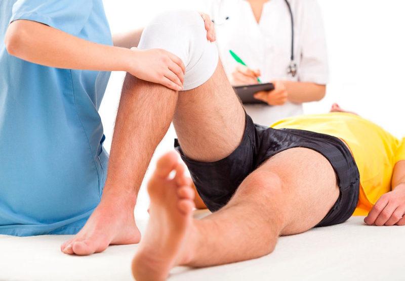 Лечение повреждений коленного сустава