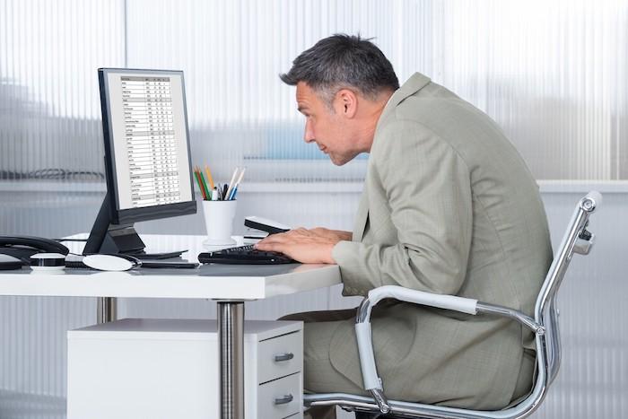 Проблемы при сидячей работе